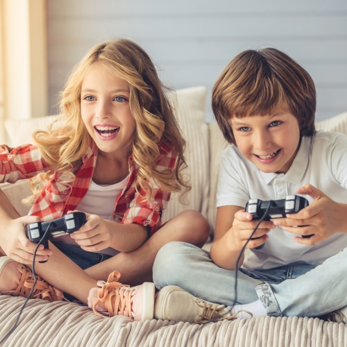 How video games can help children to develop